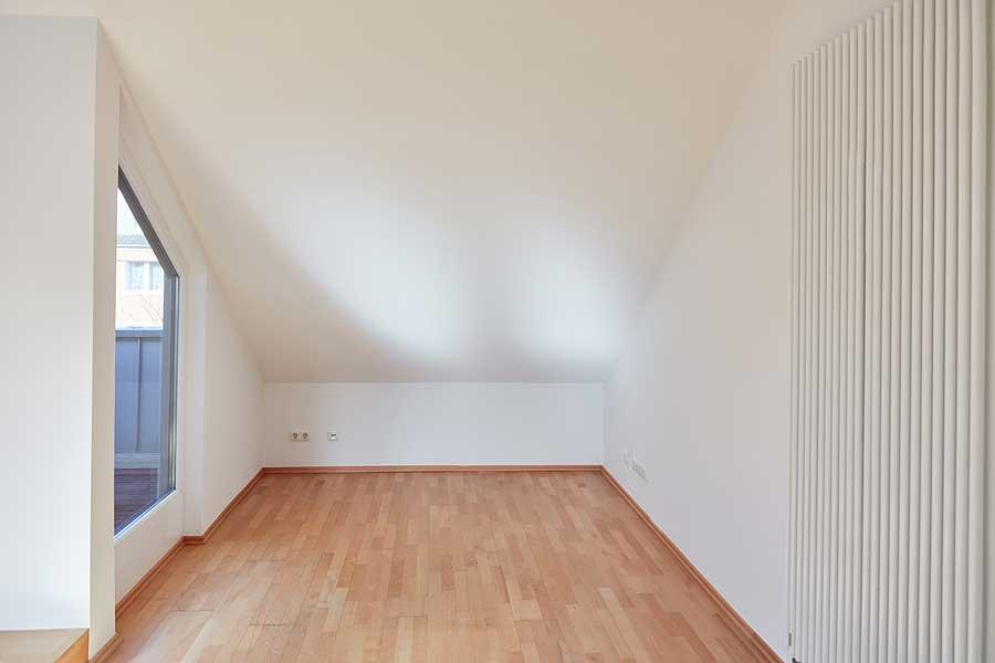 Schlafzimmer-Dachschraege