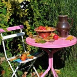 Gartenmöbel im Herbst pflegen und überwintern
