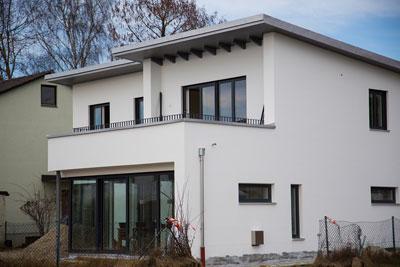 Das pultdach praktisch g nstig und sympathisch wohn for Modernes walmdachhaus