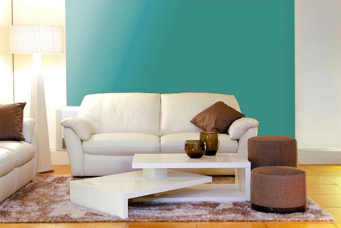 Wandfarbe Türkis wandfarben ratgeber für haus und wohnung wohn journal