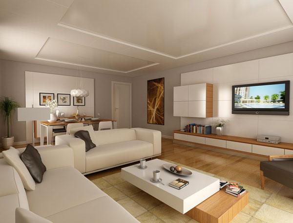 Das Wohnzimmer Modern Einrichten Und Gestalten